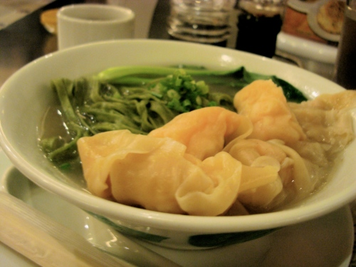 north park shrimp wanton herb noodles