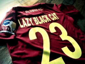 global FC jersey lazy black cat j.anne gonzales