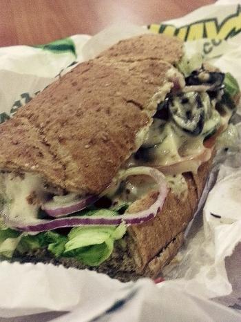 malaysia subway sandwich